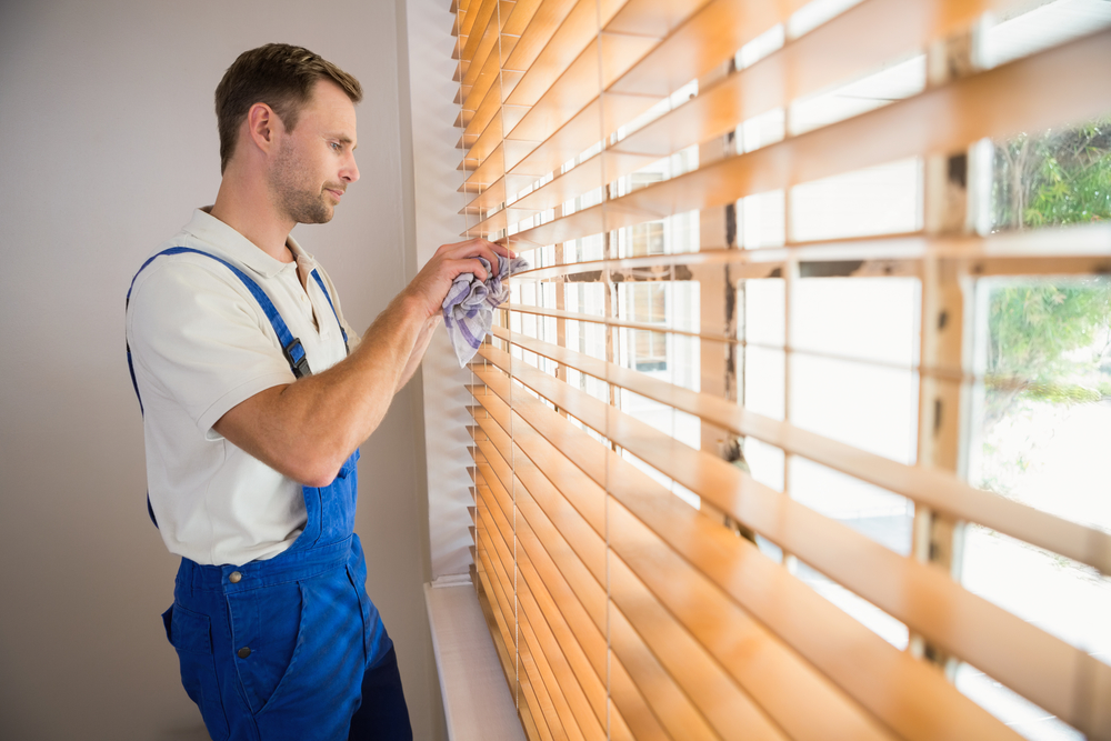 How to clean your window blinds without damage